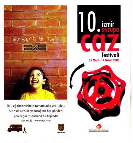 Festiva Caz Izmir Aprile 2003