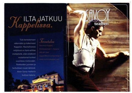 Teatro Savoy Helsinki Ottobre 2005